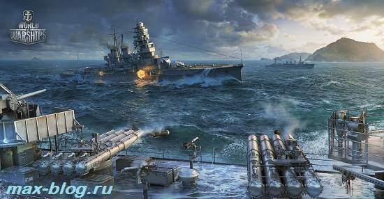 Игра-World-of-Warships-Обзор-и-прохождение-игры-World-of-Warships-5