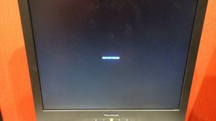 Out of range на экране при запуске, что делать?